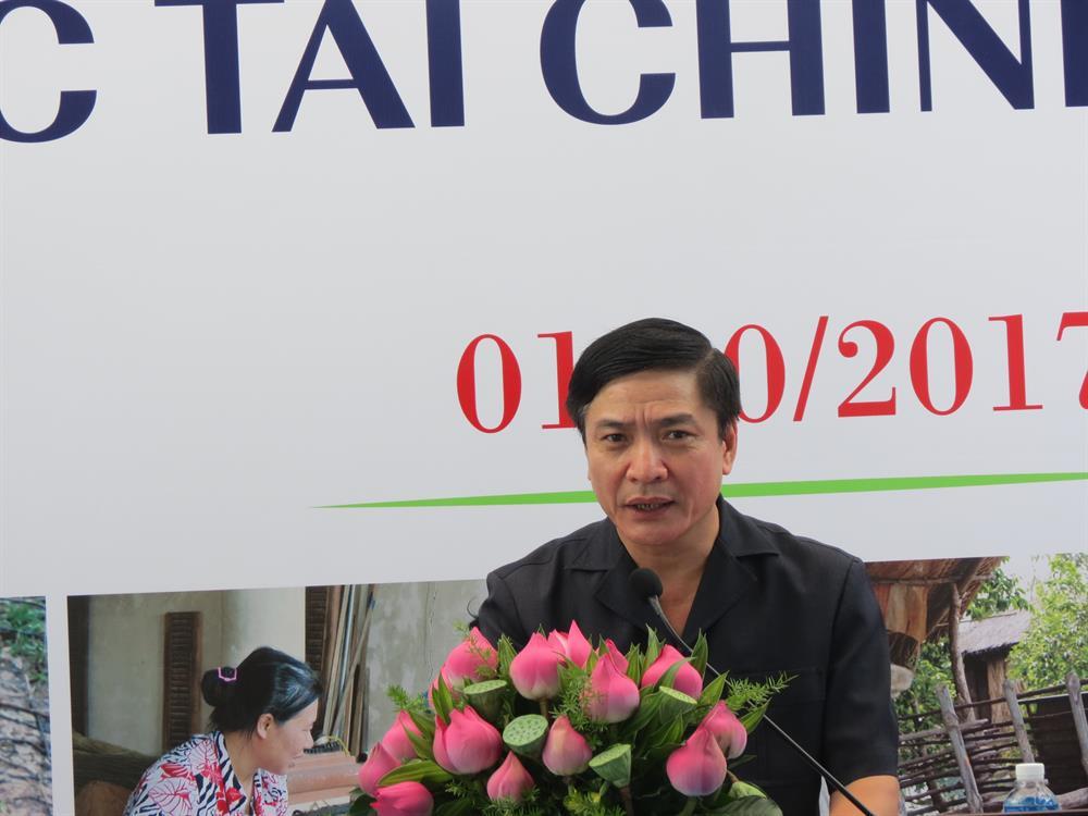 Chủ tịch Tổng LĐLĐ VN Bùi Văn Cường phát biểu