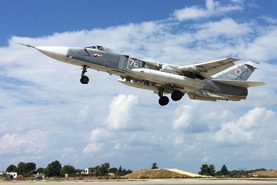 Một chiếc Su-24. Ảnh: Sputnik