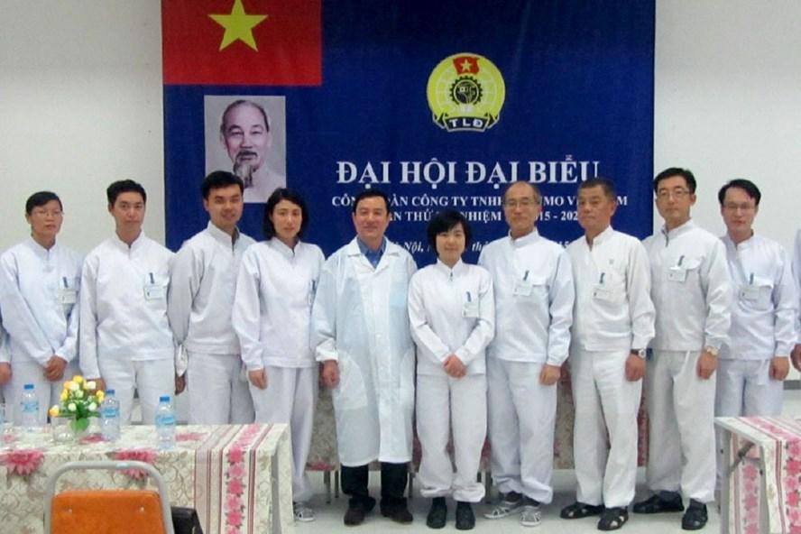 Đại hội đại biểu của một CĐCS doanh nghiệp ngoài nhà nước trực thuộc CĐ các KCN & CX Hà Nội. Ảnh: QUẾ CHI