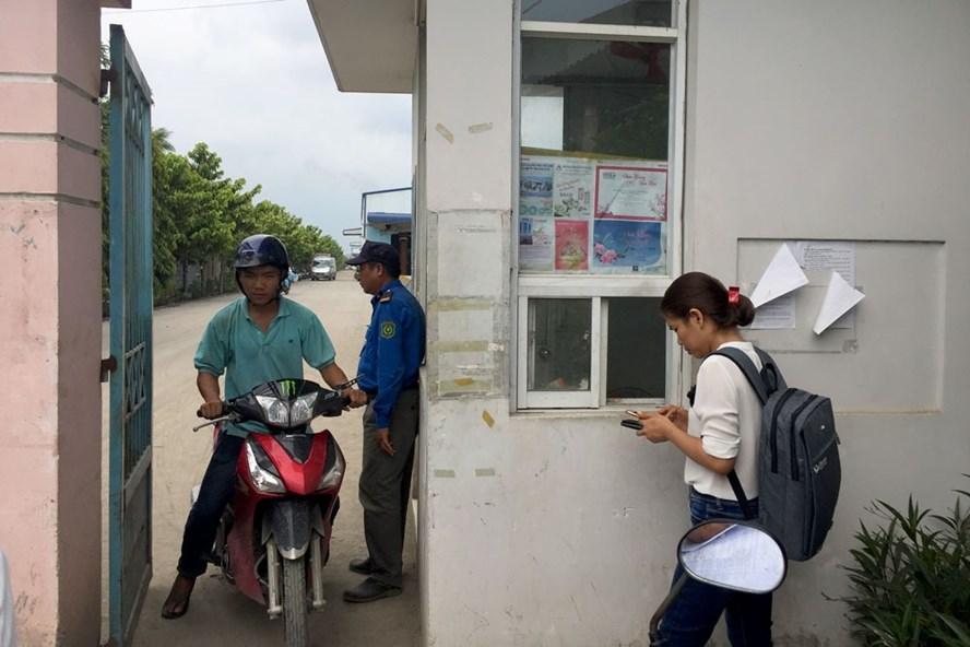 Hoạt động bình thường nhưng Cty CP giày Thuận Thành vẫn trây ỳ nợ BHXH. Ảnh: P.V