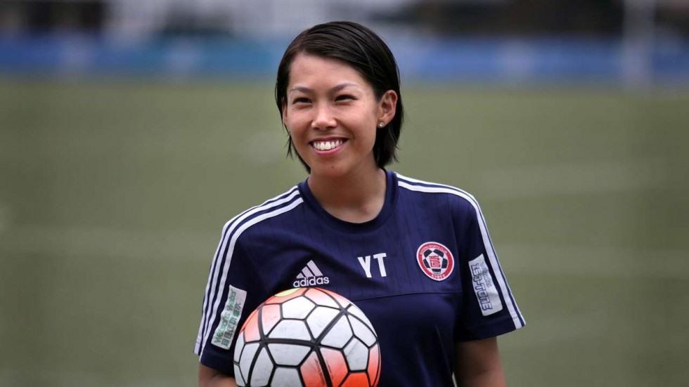 Chan Yuen Ting với nụ cười chiến thắng