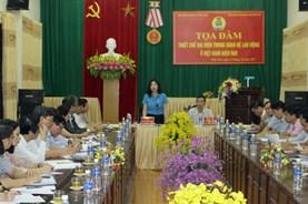 Tọa đàm về thiết chế đại diện trong quan hệ lao động ở Việt Nam