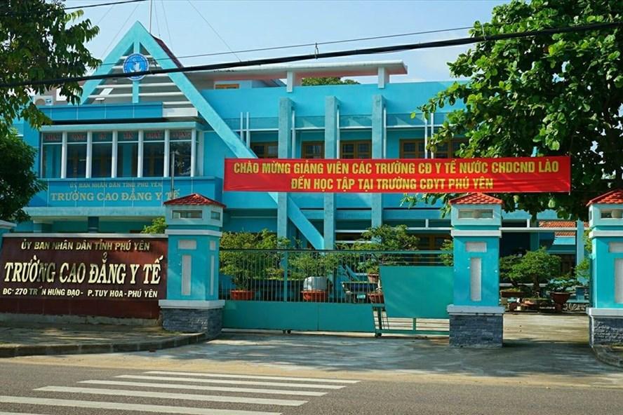 Trường Cao đẳng Y tế Phú Yên. Ảnh: V.G