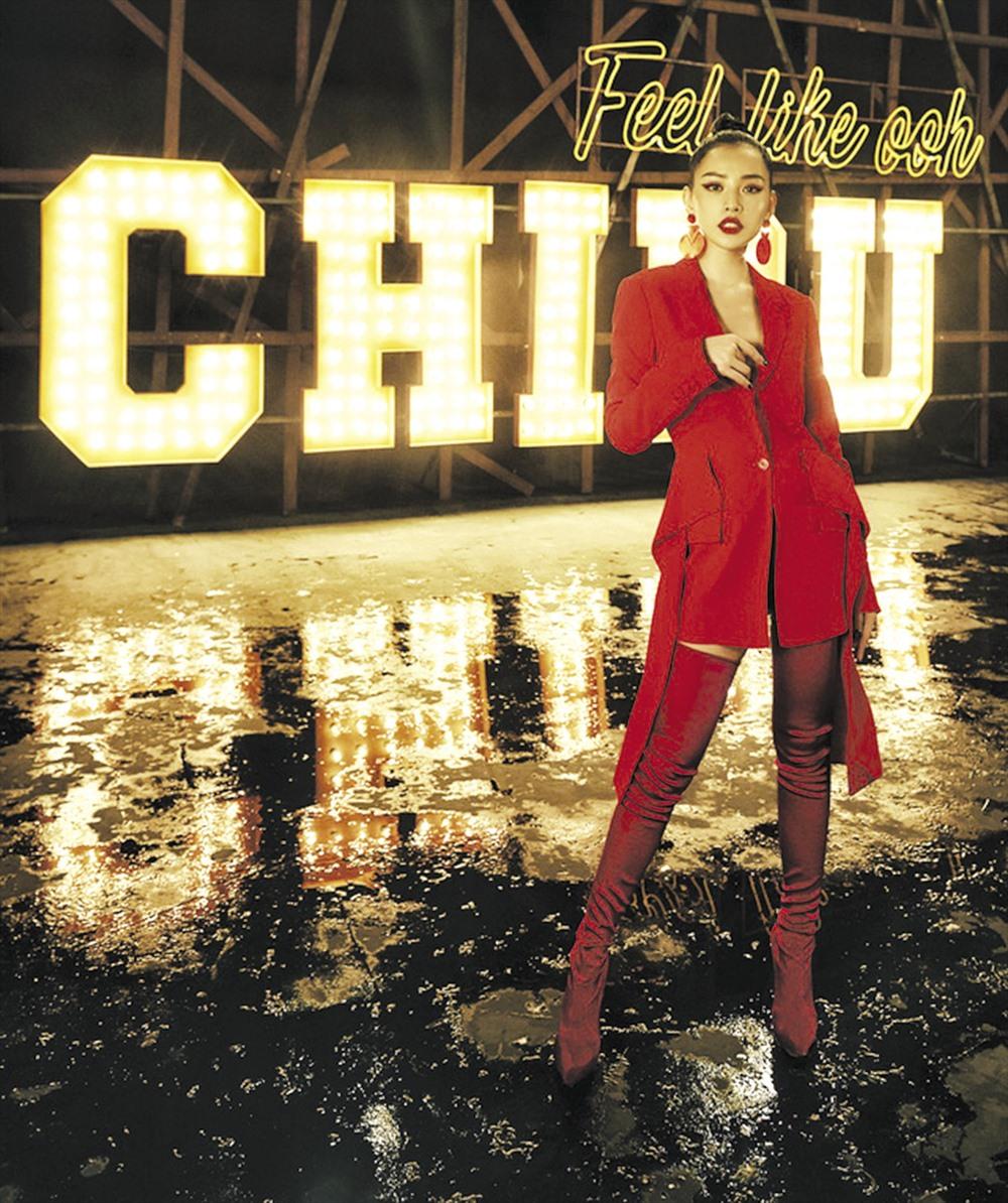 Diễn viên Chi Pu bị chê hát dở khi lấn sân ca nhạc. Ảnh: T.L