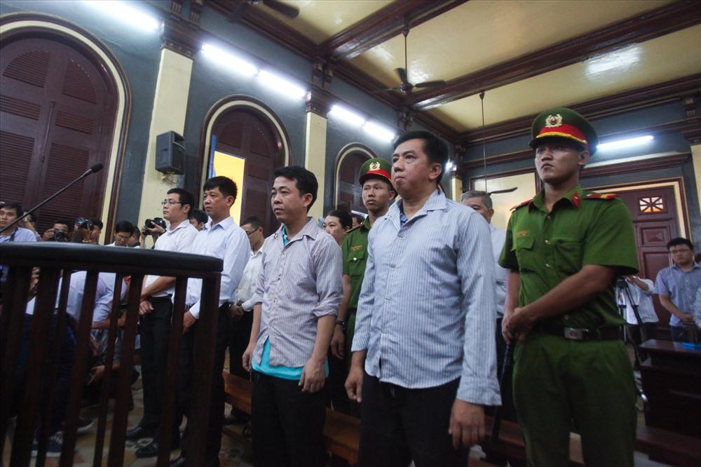Các bị cáo nghe TAND Cấp cao tại TP.HCM đã tuyên bản án phúc thẩm vụ án VN Pharma.