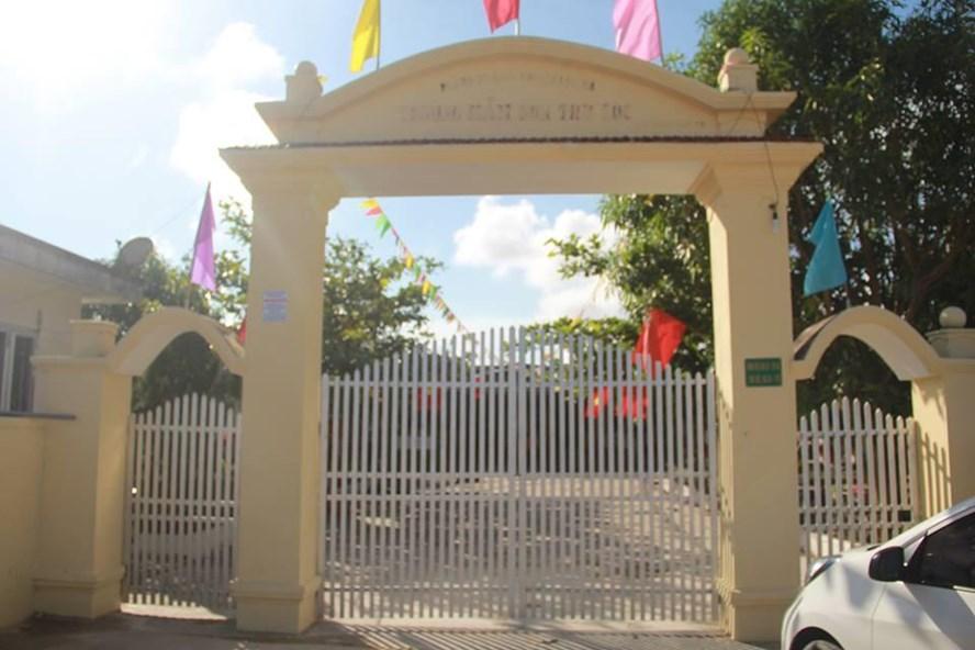Trường Mầm non Thụ Lộc - nơi xảy ra lạm thu gây bức xúc