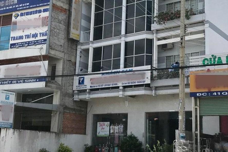 Khách sạn nơi ông Quang bị mất tiền. Ảnh: báo Tổ quốc.