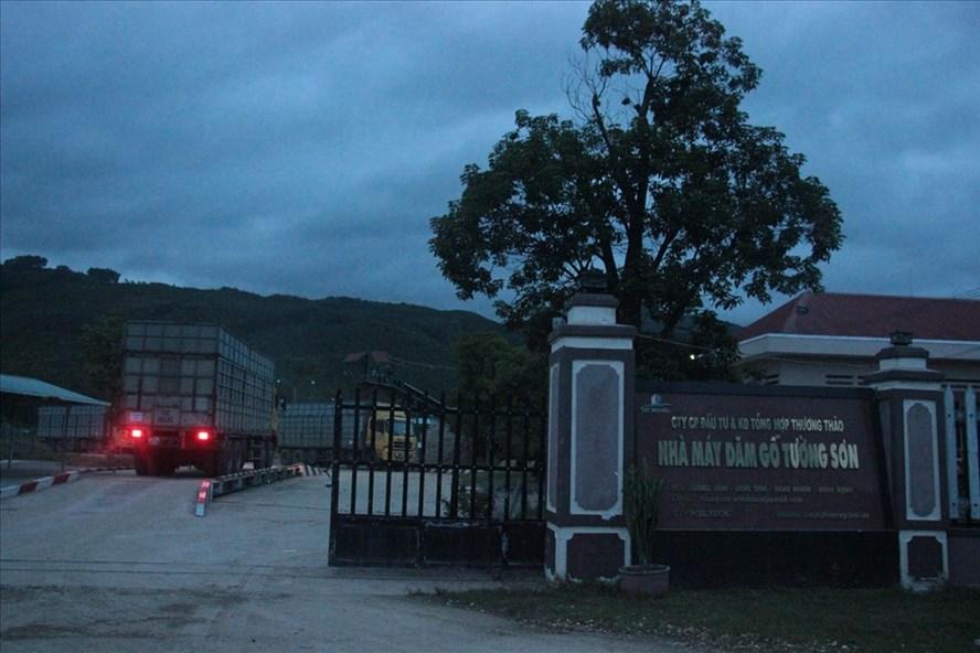 Nhà máy Tường Sơn thuộc Cty Thương Thảo   Ảnh X.N