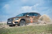 """Mercedes GLA """"vượt khó"""" trong hành trình SUVenture Extreme"""