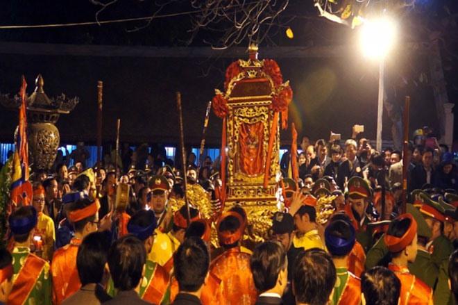 Lễ hội khai ấn Đền Trần.