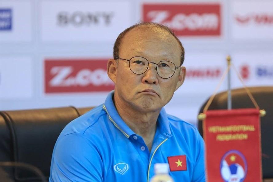 HLV Park Hang-seo tự tin tuyển Việt Nam chiến thắng. Ảnh: M.T