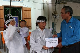 Quỹ XHTT Tấm Lòng Vàng: Chia sẻ khó khăn với người dân tỉnh Khánh Hòa sau bão lụt