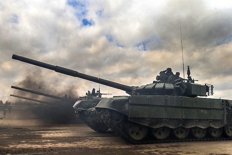 Nga bắt đầu giao xe tăng T-90 cho Iraq - ảnh 1