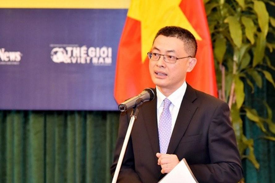 Ông Vũ Quang Minh tại một sự kiện đối ngoại. Ảnh: Thế giới và Việt Nam