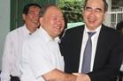 Cuộc gặp giữa ông Nguyễn Thiện Nhân và thầy hiệu trưởng cũ