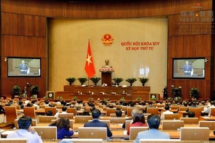 Quốc hội thông qua dự thảo Luật Các tổ chức tín dụng
