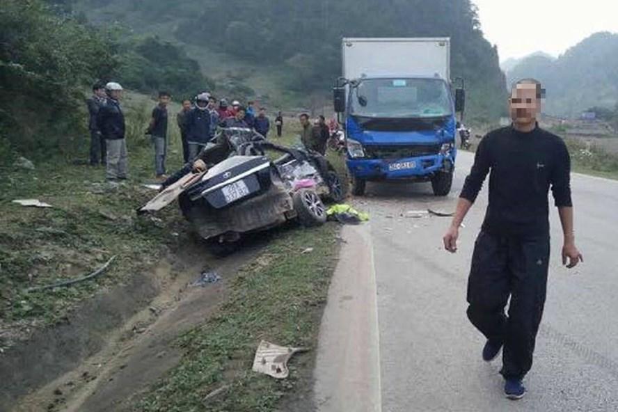 Vụ tai nạn nghiêm trọng xảy ra ở Hòa Bình.