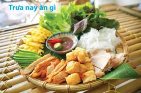 Trưa nay ăn gì: Bún đậu mắm tôm Hà Nội ngon tuyệt cú