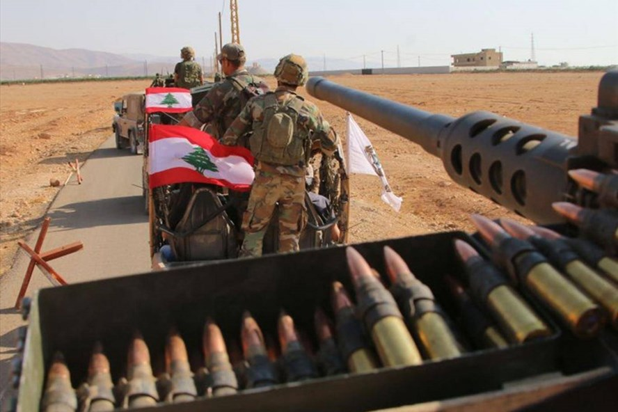 Quân đội Lebanon được lệnh sẵn sàng chiến đấu trước Israel. Ảnh: Getty