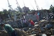 Xây dựng bờ kè chống sạt lở khu vực biệt thự dự án Biển Tiên Sa (Sơn Trà)