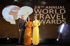Vietravel nhận giải World's Leading Group Tour Operator 2017