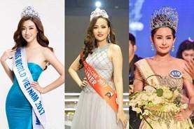 Showbiz Việt 2017: Sao lắm hoa hậu đến thế!
