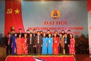 Đại hội điểm Công đoàn huyện Yên Phong (Bắc Ninh)