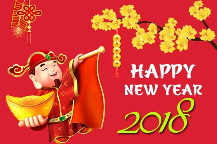 Năm mới là dịp gửi lời chúc đến nhau.