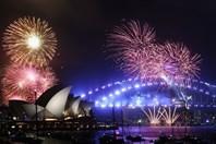 """Cận cảnh màn pháo hoa """"danh bất hư truyền"""" tại cầu cảng Sydney"""