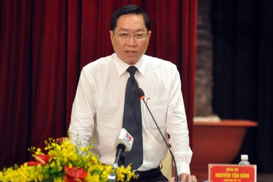 Giám đốc Sở Y tế TPHCM Nguyễn Tấn Bỉnh. Ảnh: VGP.