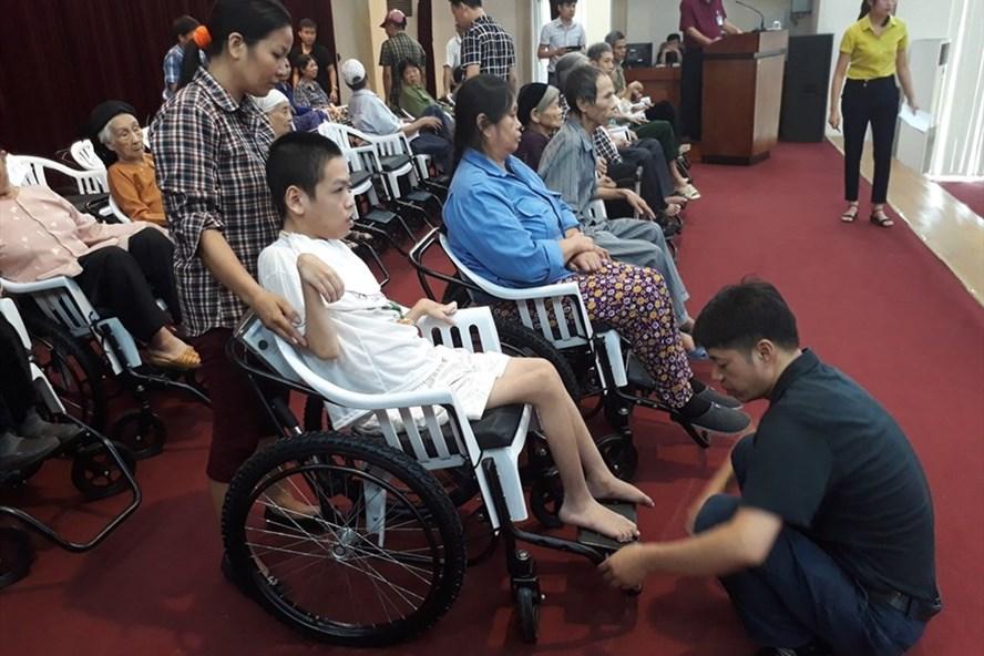 Người khuyết tật nặng và đặc biệt nặng được trợ cấp xã hội hàng tháng.