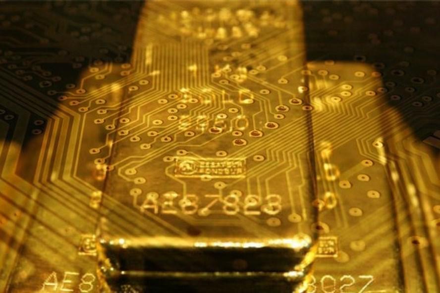 Giá vàng bất ngờ giảm mạnh trong phiên giao dịch hôm nay. Ảnh PV