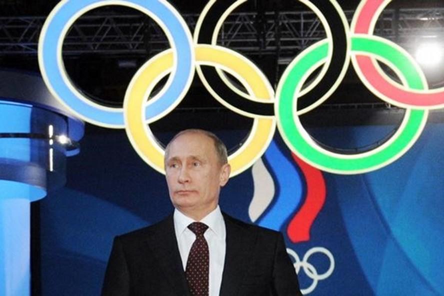 Tổng thống Putin cáo buộc lệnh cấm Nga tham gia Olympic mùa đông 2018 mang động cơ chính trị. Ảnh: DW