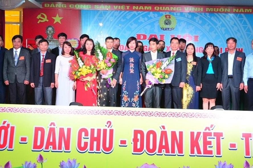 Ra mắt BCH CĐ ngành Xây dựng tỉnh Thái Bình nhiệm kỳ 2017-2022.