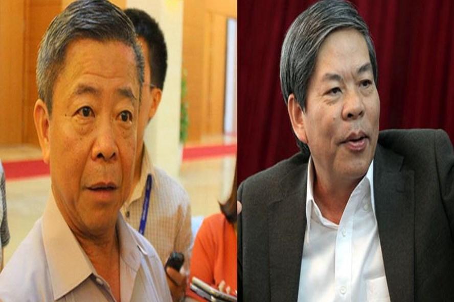 Ông Nguyễn Minh Quang và ông Võ Kim Cự
