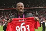 """""""Tia chớp đen"""" Usain Bolt chuẩn bị khoác áo """"Quỷ đỏ"""" Man United"""