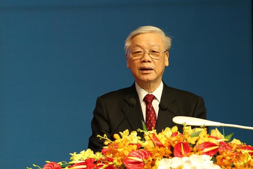 Tổng Bí thư Nguyễn Phú Trọng. Ảnh: Hải Nguyễn