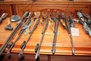 """Triệt phá vụ tàng trữ vũ khí quân dụng """"khủng"""""""