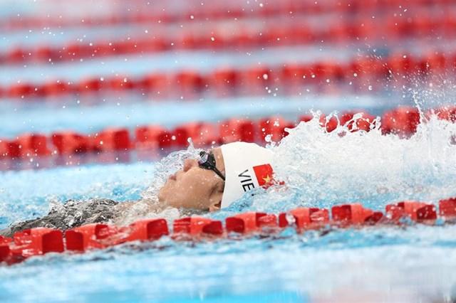 Sau thất bại, Ánh Viên lại giành HCV 100m ngửa, phá kỷ lục SEA Games