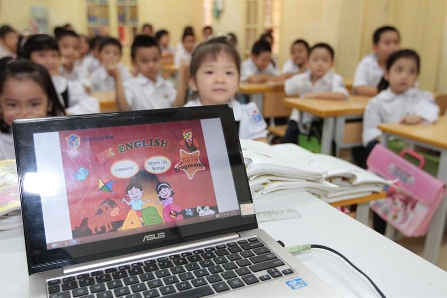 Trong năm học tới, Bộ GDĐT sẽ trình Chính phủ ban hành Đề án Dạy và học ngoại ngữ giai đoạn 2017-2025 trên cơ sở sửa đổi đề án ngoại ngữ 2020.. Ảnh: Hải Nguyễn