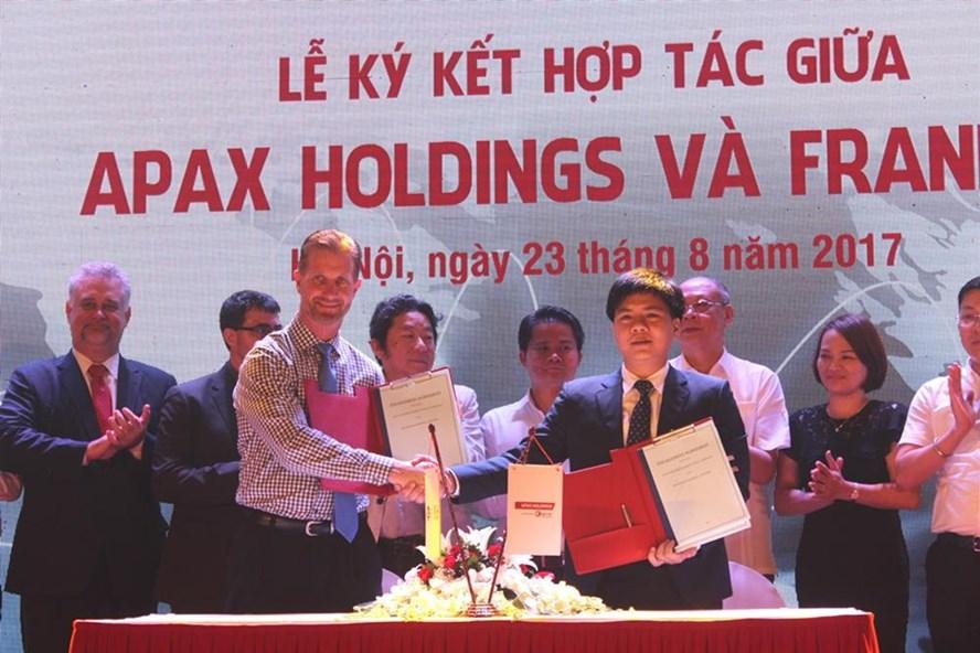 Giáo dục trung học chuẩn Mỹ của Apax Franklin ra mắt tại Việt Nam.