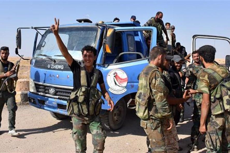 Nga cho biết, quân đội Syria đã giải phóng 85% lãnh thổ khỏi khủng bố. Ảnh: Press TV/AFP