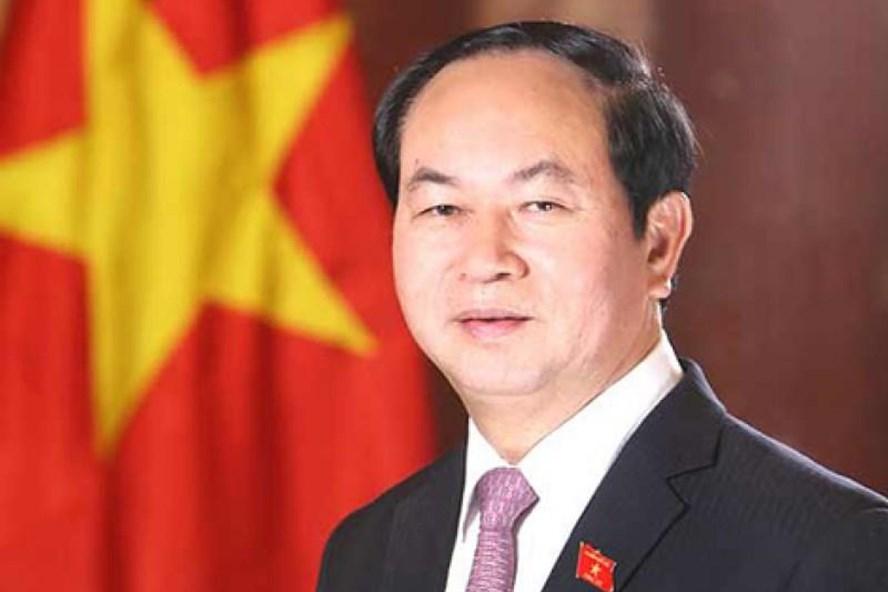 Chủ tịch nước Trần Đại Quang. TTXVN
