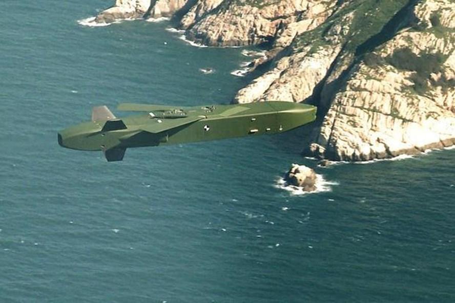Tên lửa hành trình không đối địa tầm xa Taurus trong cuộc diễn tập của quân đội Hàn Quốc ngày 12.9.2017. Ảnh: Bộ Quốc phòng Hàn Quốc