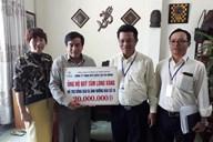 Công ty Điện lực Đà Nẵng ủng hộ 20 triệu đồng hỗ trợ đồng bào vùng bão lũ miền Trung
