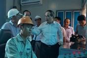 """Bí thư Nguyễn Thiện Nhân khảo sát """"siêu máy bơm"""" chống ngập thành công đường Nguyễn Hữu Cảnh"""