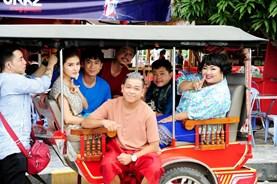"""Hồ Việt Trung gặp tai nạn trên phim trường """"Truy tìm kho báu"""""""