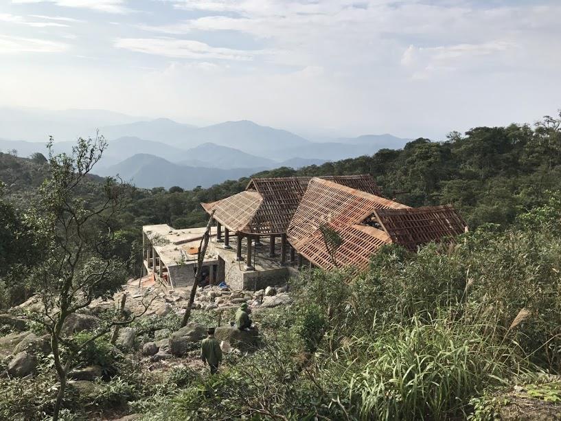 6.Chùa Thượng, Tây Yên Tử. Ảnh: Nguyễn Hùng