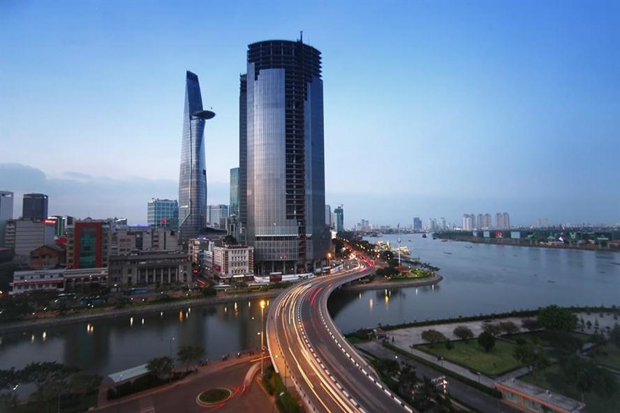 TP.Hồ Chí Minh đã có bước phát triển vượt bậc trong thời gian qua. Ảnh: B.D