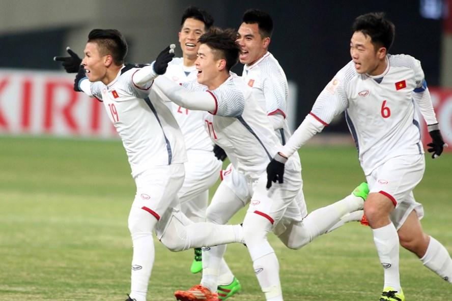 U.23 Việt Nam đã có trận đấu đáng được khen ngợi trước U.23 Hàn Quốc. Ảnh: HỮU PHẠM